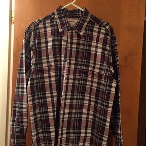 Eddie Bauer Heavy Cotton Twill Shirt